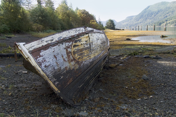 Tahsis Inlet, Vancouver Island.