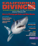 Andy Murch California Diving Magazine Cover