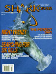 Andy Murch Shark Diver Magazine Cover